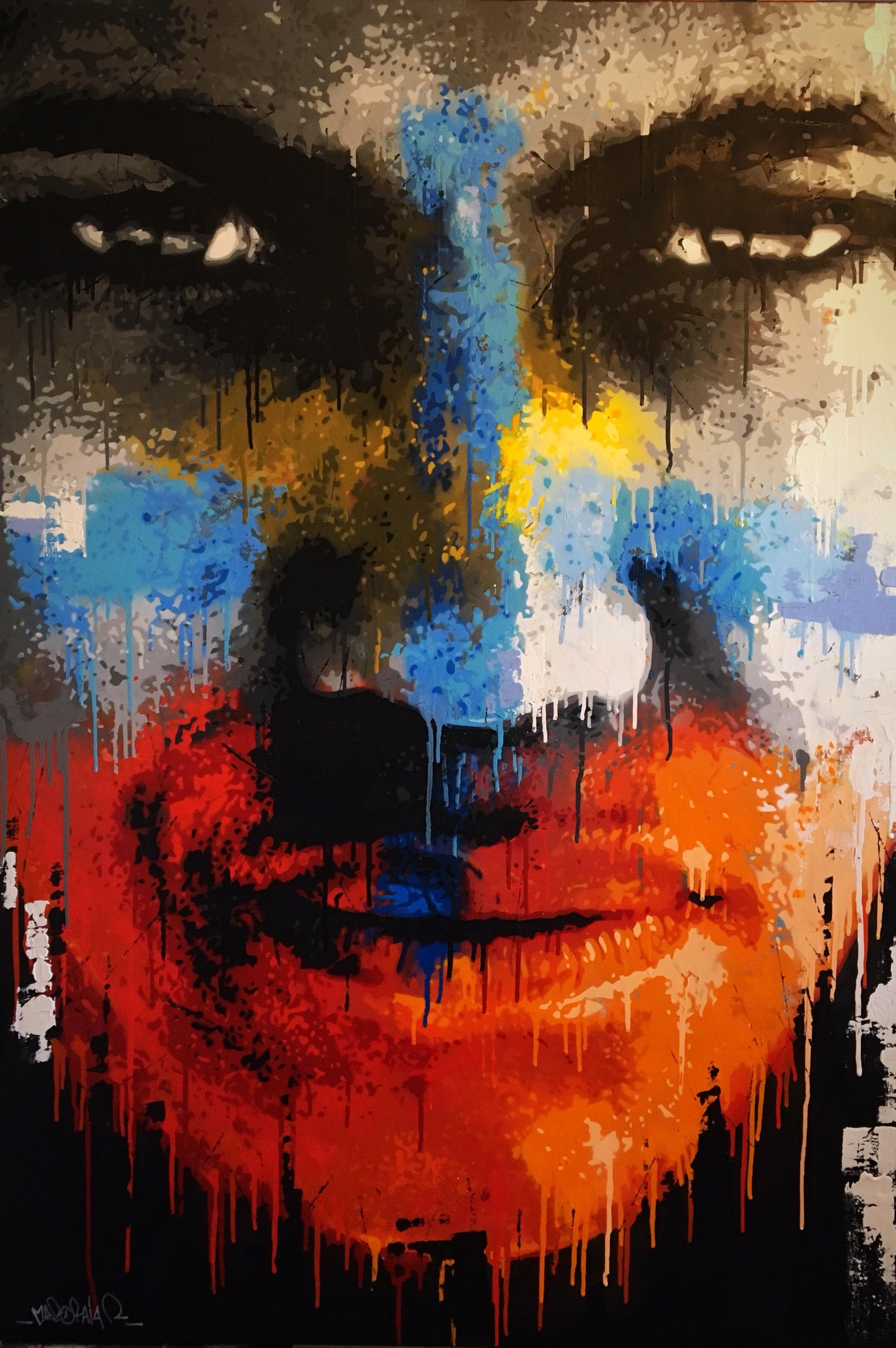 Méro Raja artiste peinture Rémy Rajaona