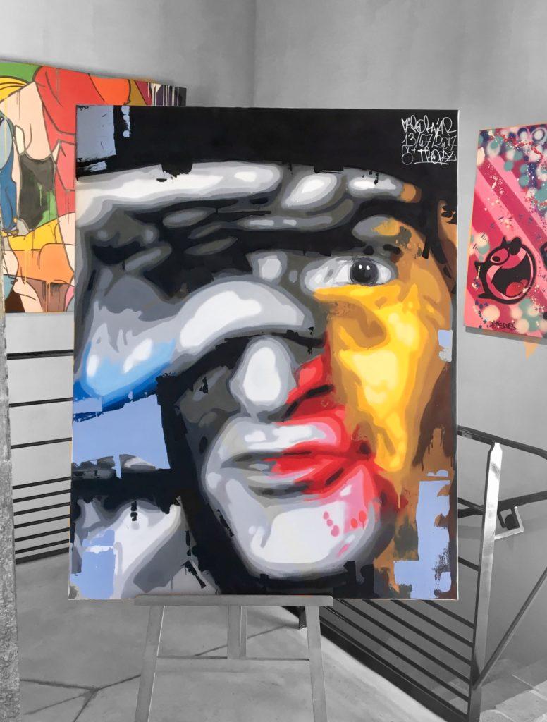 Méro Raja peinture Rémy Rajaona