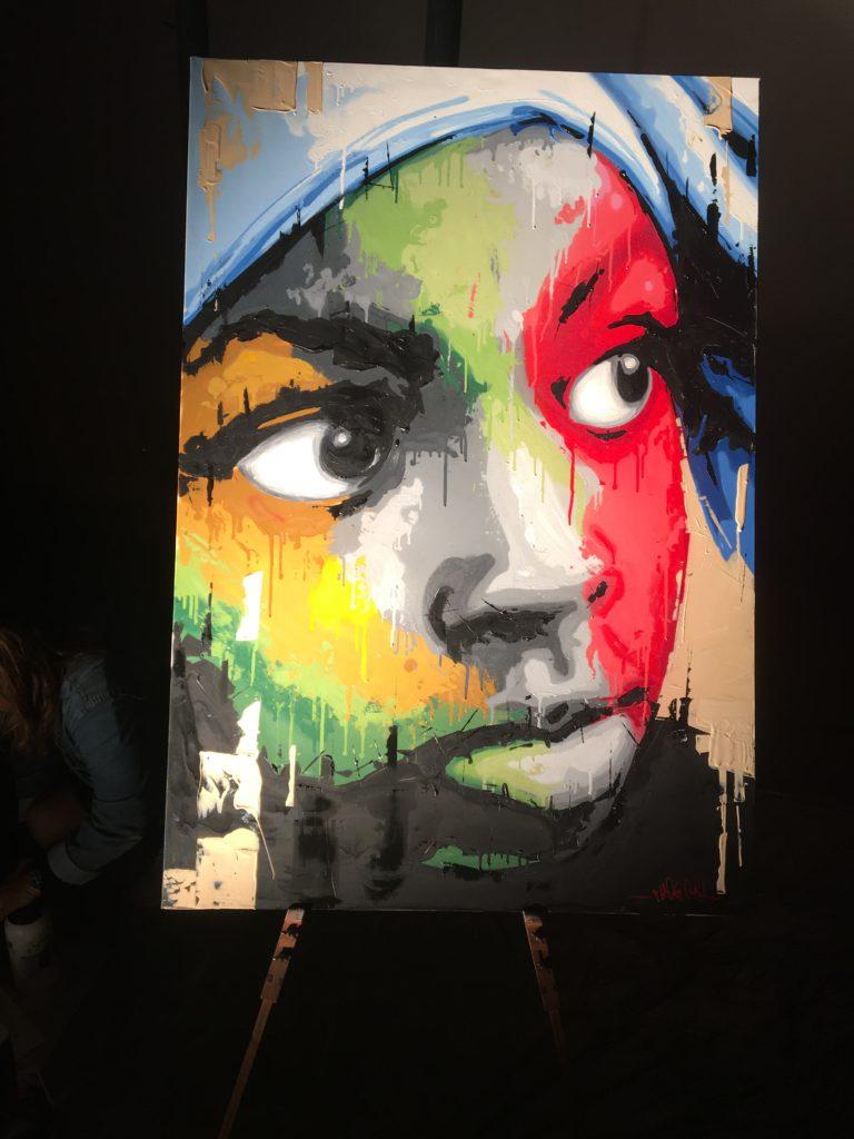 Méro Raja peinture Artiste Rémy Rajaona