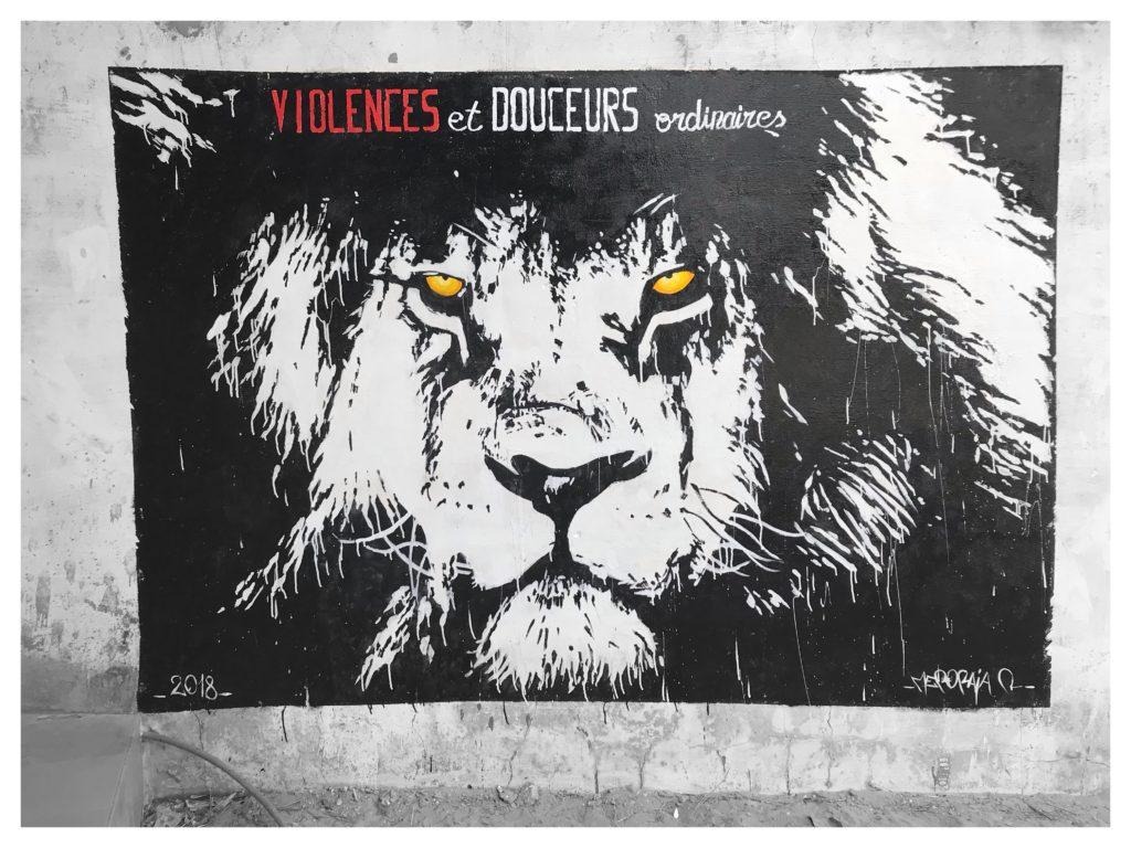 Graff au centre de DAROU KHOUDOSS