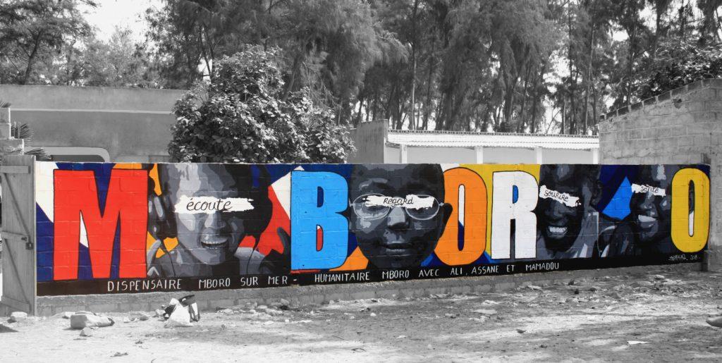 Graff au dispensaire de MBORO
