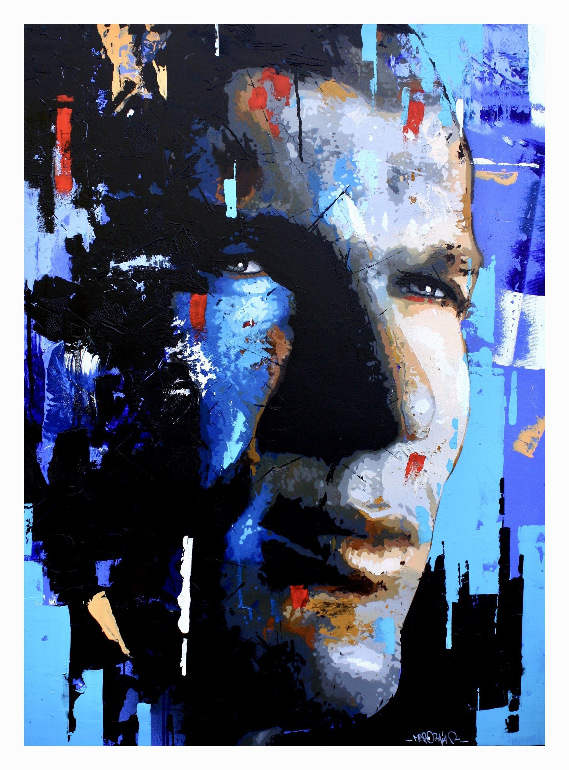 Méro Raja peinture Rémy Rajaona artiste graff zidane