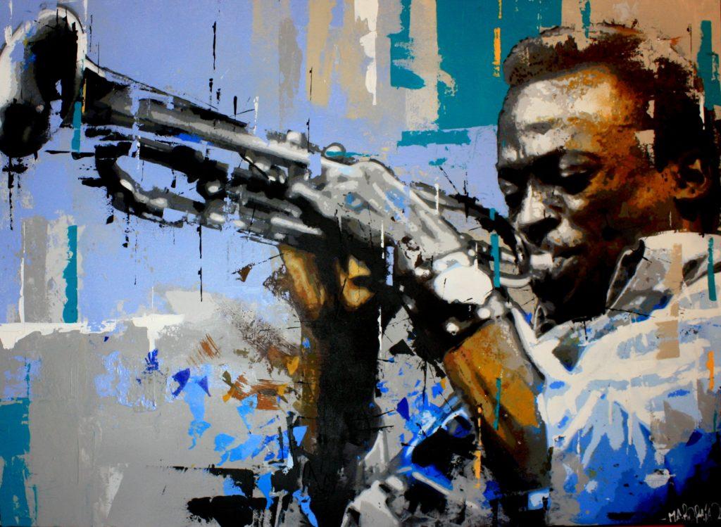 Méro Raja peinture Rémy Rajaona artiste