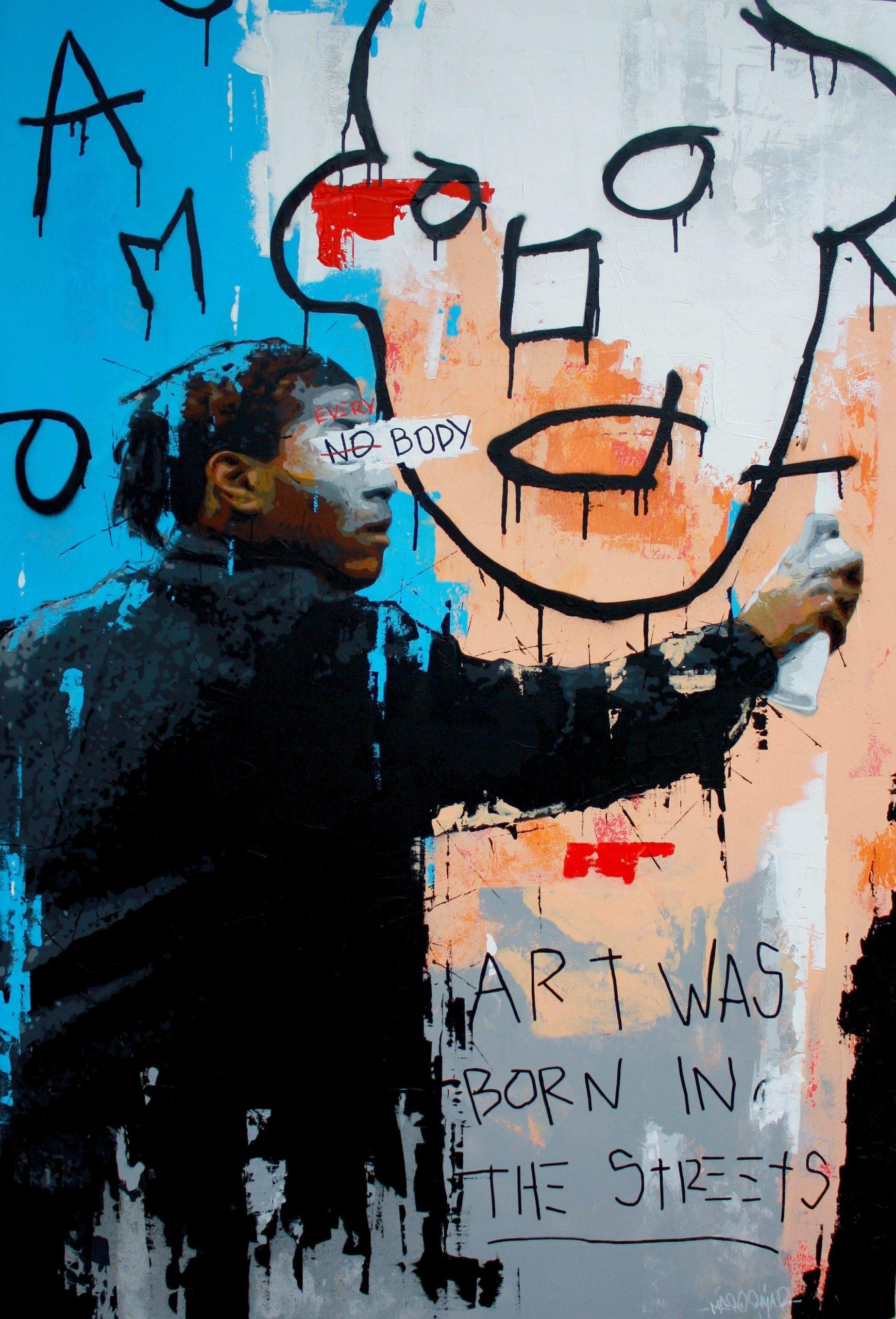 Méro Raja peinture Rémy Rajaona artiste Basquiat