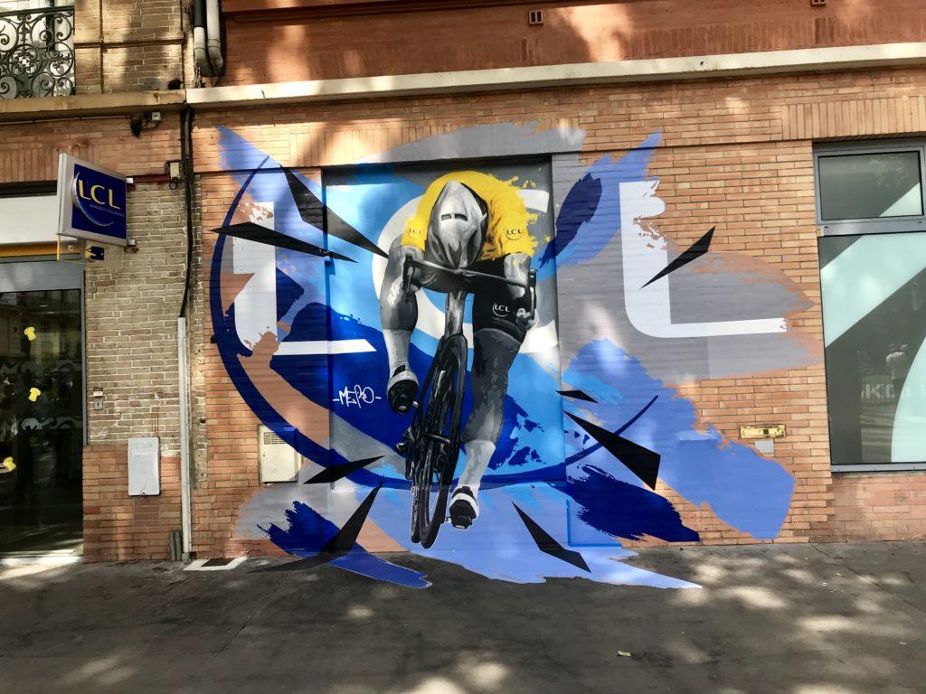 Graff pour les 100 ans du maillot jaune avec LCL