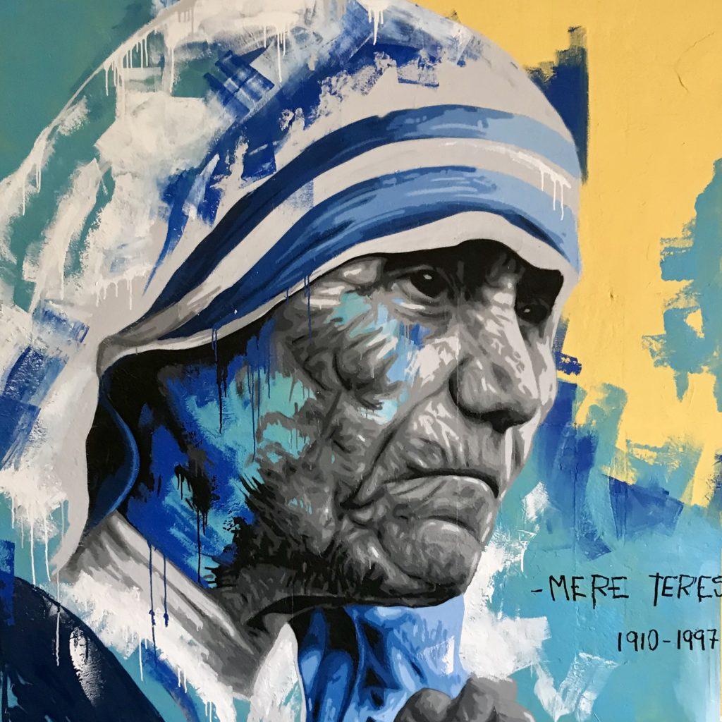 Graff pour le centre Socila de Trébes