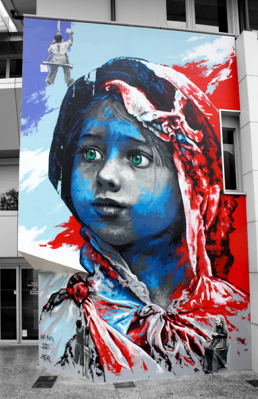 Méro Raja peinture Rémy Rajaona artiste Graff